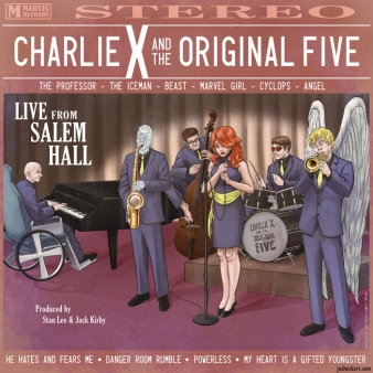 Charlie X and the Original Five album cover