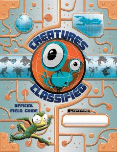 Creatures Classified Official Field Guide cover