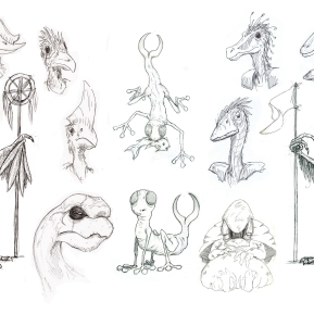 Creatures Classified sketches