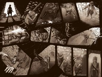 Geek Zodiac: A Stone Unturned pgs 2 & 3