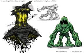 Geek Zodiac character designs