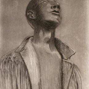 Job statue
