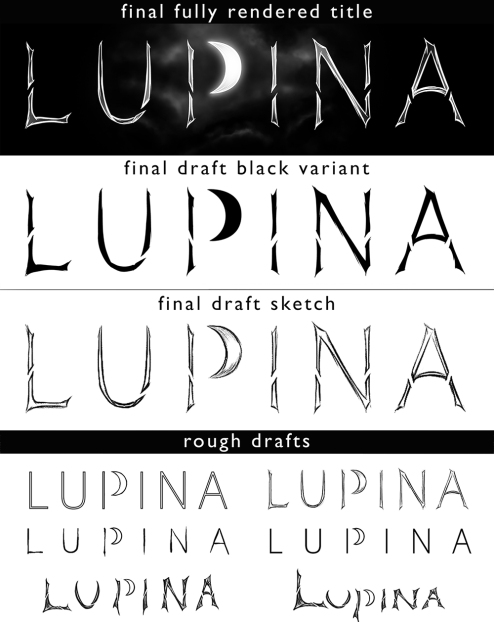 Lupina title design