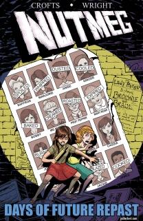 Nutmeg #1 variant cover