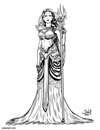 Siren (from a design by Kathryn Lee Steele)