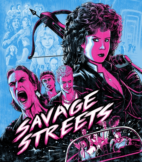 Savage Streets cover art
