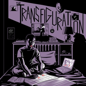 A drawing exercise inspired by the movie, The Transfiguration