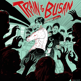 A drawing exercise inspired by the movie, Train to Busan