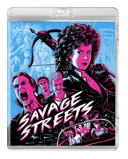 Savage Streets blu-ray