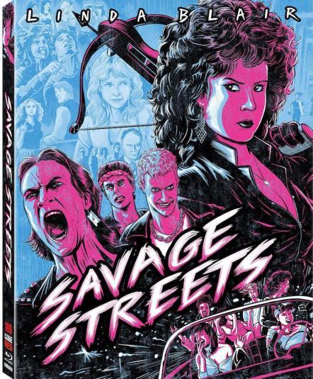 Savage Streets slip cover mockup